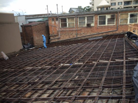 Asbestos Sheet Roofing Removal