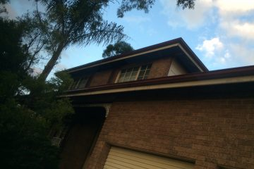 Asbestos Eaves Removed